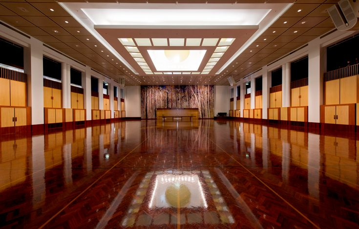 parquetry at the great hall