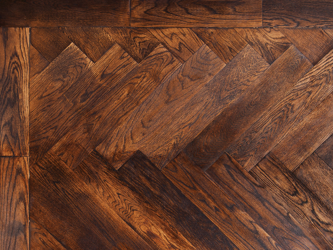 We Love Parquet The Art of Fine Parquetry European Oak Herringbone with Border