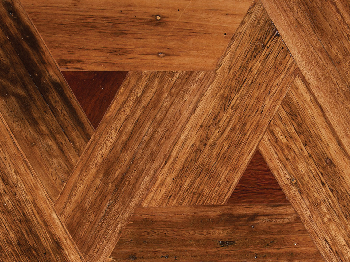 Tallowwood Triangle Parquetry