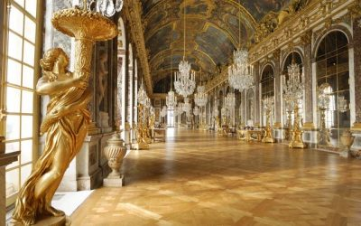 Parquetry flooring in the versailles Palace, by Marc-maison