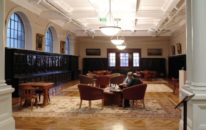 mitchell libarary reading room